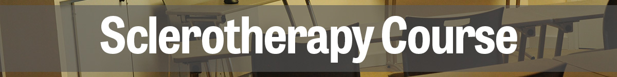 Sclerotherapy Course
